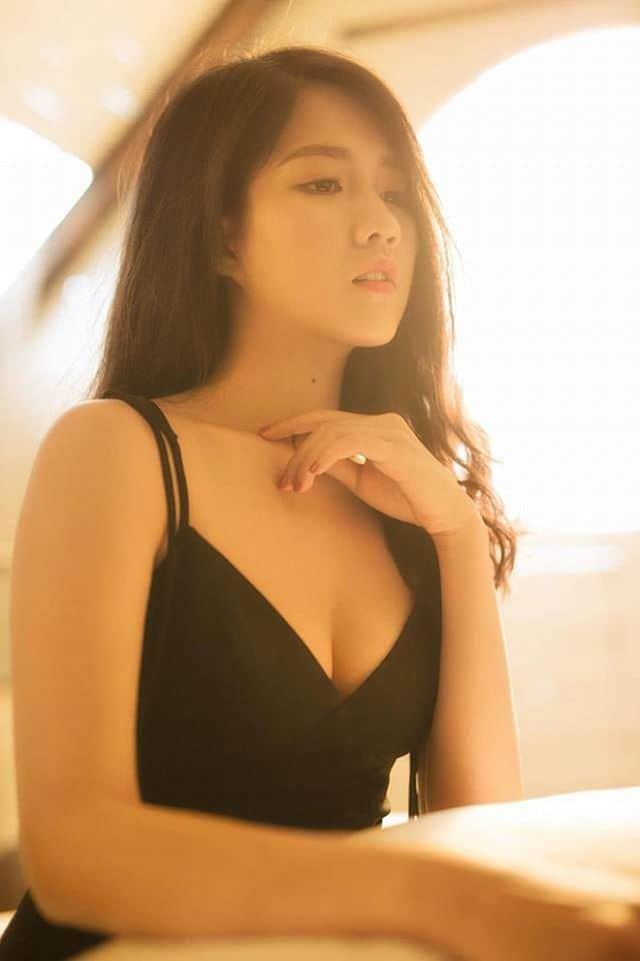 Hot girl Trà sữa Kiều Trinh diện Bibini ngọt ngào khó cưỡng